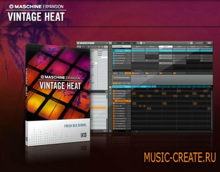 Native Instruments - Vintage Heat Maschine Expansion (TEAM R2R)