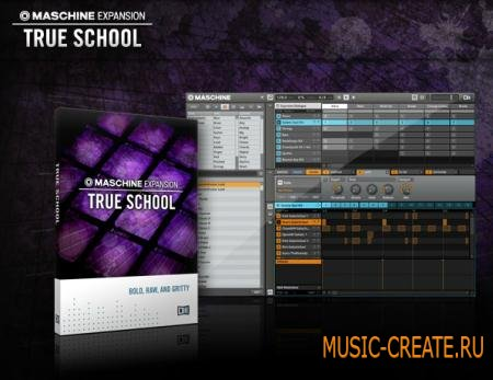 Native Instruments - True School Maschine Expansion (TEAM R2R)
