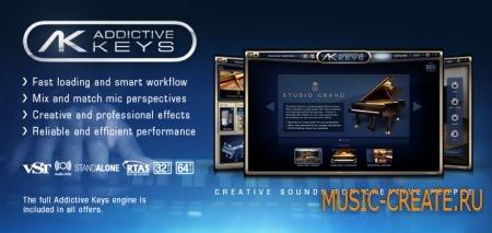 XLN Audio Addictive Keys v1.1.8 WIN OSX (TEAM R2R) - виртуальный клавишный инструмент