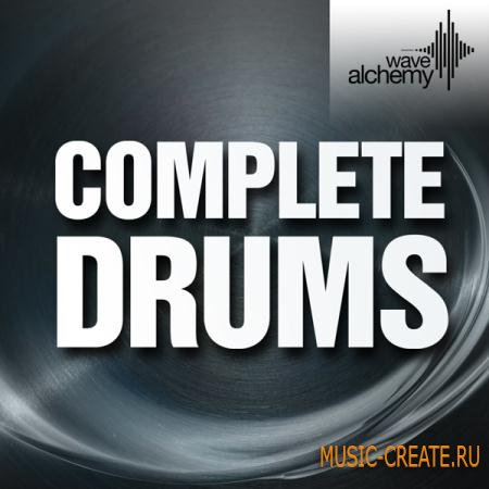 Wave Alchemy - Complete Drums (WAV/Sampler Patches) - драм сэмплы
