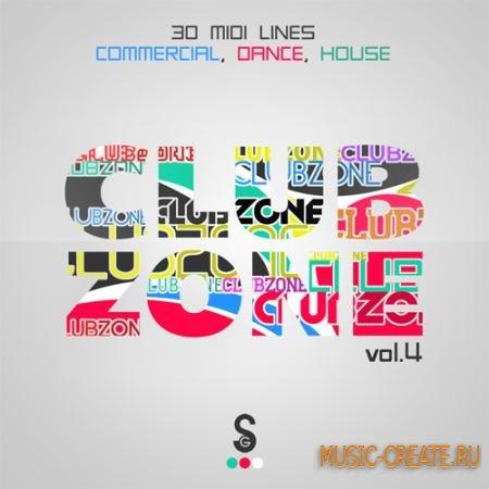 Golden Samples - Club Zone Vol.4 (MIDI) - мелодии Commercial Dance, House