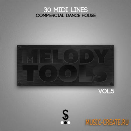 Golden Samples - Melody Tools Vol.5 (MIDI) - мелодии Commercial Dance, House, Electro House
