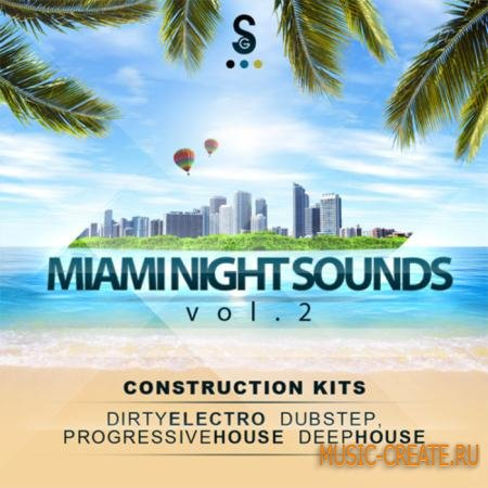 Golden Samples - Miami Night Sounds Vol. 2 (WAV MIDI) - сэмплы Electro House, Dirty Electro, Disco House, Progressive House, Deep House