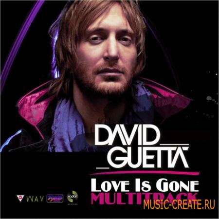 David Guetta Love Is Gone Multitrack (WAV)