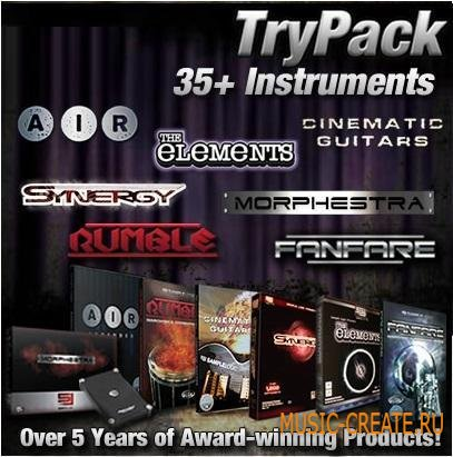 Sample Logic - TryPack (KONTAKT-KRock)