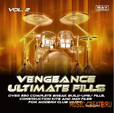Vengeance - Ultimate Fills Vol 2 (WAV) - сэмплы драм грувы / филлы