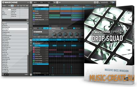 Native Instruments - Maschine Expansion: Drop Squad (ISO)
