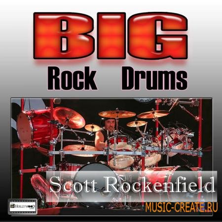 Hollywood Loops - Big Rock Drums (MULTiFORMAT) - сэмплы ударных