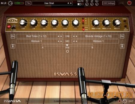 Kuassa - Amplifikation Vermilion v1.0 WiN (TEAM R2R) - гитарный усилитель