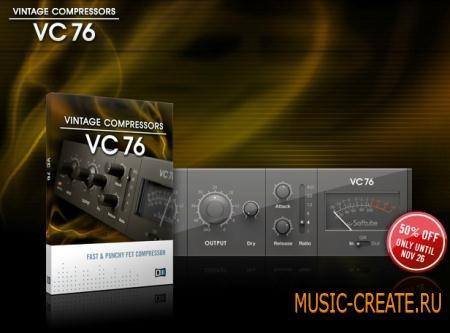 Native Instruments - VC 76 v1.1.0 (TEAM R2R) - плагин винтажный компрессор