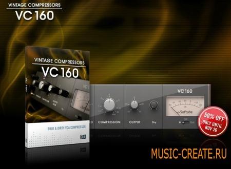 Native Instruments - VC 160 v1.0.0 (TEAM R2R) - плагин винтажный компрессор