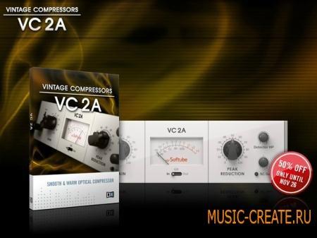 Native Instruments - VC 2A v1.0.0 (TEAM R2R) - плагин винтажный компрессор