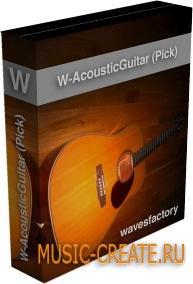 Wavesfactory - W-Acoustic Guitar (Pick) (KONTAKT) - библиотека акустической гитары
