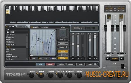 iZotope - Trash v2.00 x86x64 (TEAM CHAOS) - плагин дисторшн
