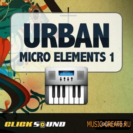 Clicksound - Urban Micro Elements 1 (LOGIC PRO 9 TEMPLATE)