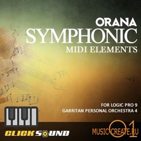 Clicksound - Orana Symphonic MIDI Elements Vol 1 (LOGIC PRO 9 TEMPLATE)