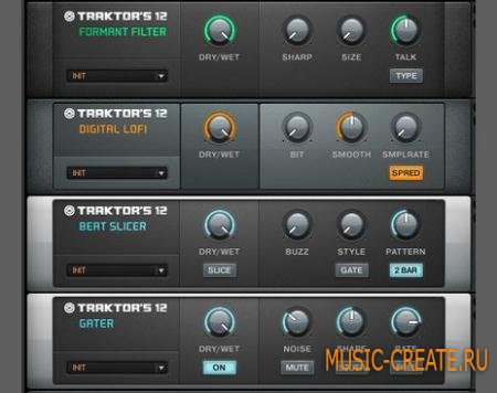 Native Instruments - Traktors 12 v1.1.0 Win & MacOSX (TEAM R2R) - эффект для Guitar Rig 5