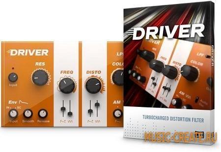 Native Instruments - Driver v1.1.0 (TEAM R2R) - плагин фильтр, дисторшн