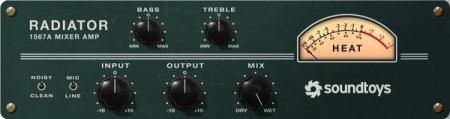 SoundToys - Radiator v1.1.0 (TEAM R2R) - плагин ламповый сатуратор и эквалайзер