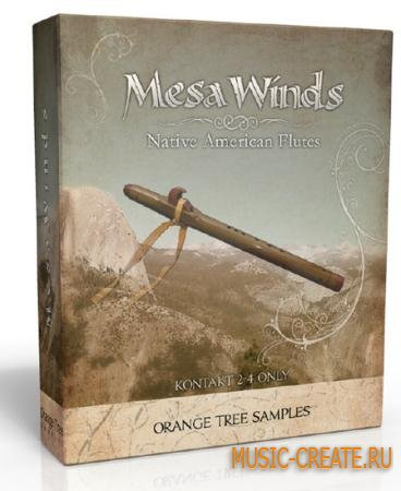 Orange Tree Samples - MesaWinds (KONTAKT -MAGNETRiXX) - библиотека звуков индейской флейты