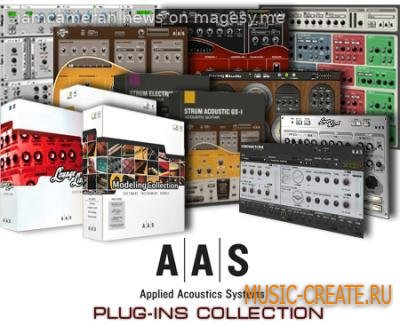 Applied Acoustics Systems - Plug-ins Collection WiN/MAC (Incl.Keygen AiR) - сборка плагинов
