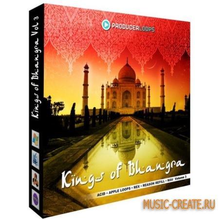 Producer Loops - Kings of Bhangra Vol 3 (MULTiFORMAT DVDR) - сэмплы индийских инструментов