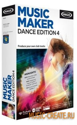 MAGIX - Music Maker Dance Edition 4.v6.0.0.6 (Incl Keygen Farewell Release-DI) - виртуальная студия
