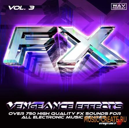 reFX - Vengeance Effects vol.3 (WAV) - звуковые эффекты
