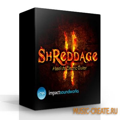 Impact Soundworks - Shreddage 2 (KONTAKT-SCD DVDR SONiTUS) - библиотека электрической гитары Musicman JP12