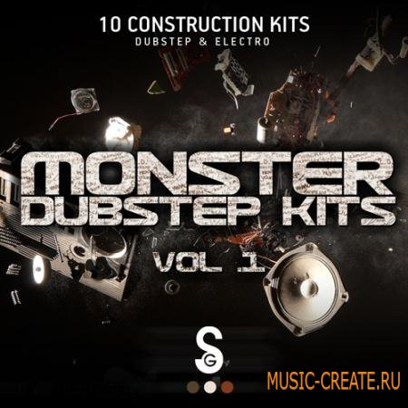 Golden Samples - Monster Dubstep Kits Vol 1 (WAV MiDi) - сэмплы Dubstep, Electro House