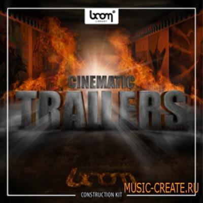 Boom Library - Cinematic Trailers: Construction Kit (WAV / SCD DVD9-SONiTUS) - звуковые эффекты