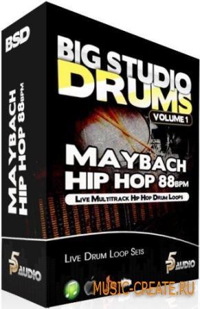 P5 Audio - Big Studio Drums Maybach Hip Hop 88 Bpm (MULTiFORMAT) - сэмплы Hip Hop