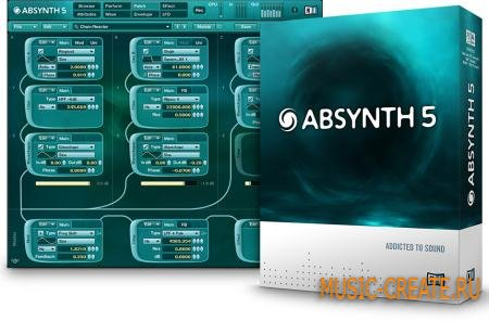 Native Instruments Absynth 5 STANDALONE VST VSTi RTAS v5.1.0 (x86/x64  ASSiGN) - синтезатор