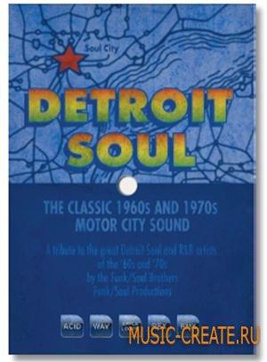 Big Fish Audio - Detroit Soul (MULTiFORMAT) - сэмплы Soul, Funk, R&B