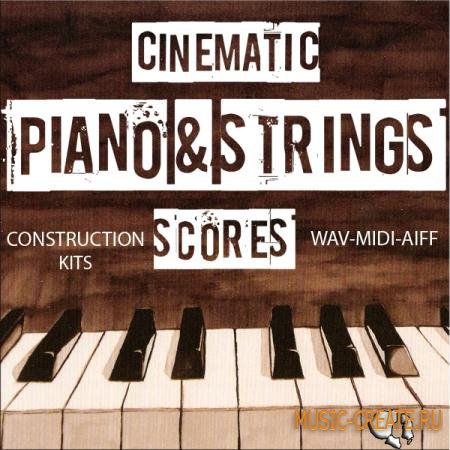 Auditory - Cinematic Piano and Strings Scores (ACiD WAV MiDi AiFF) - сэмплы оркестра