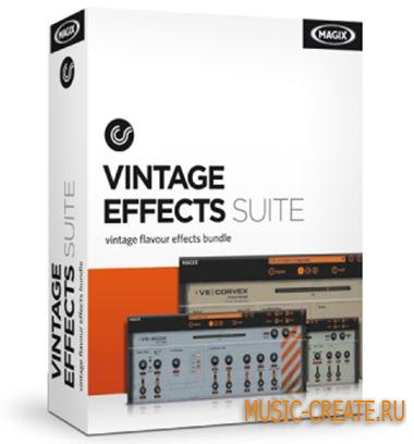 MAGIX - Vintage Effects Suite v2.003 R2 (Team R2R) - набор плагинов