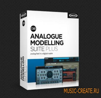 MAGIX - Analog Modeling Suite Plus v2.001 R2 (Team R2R) - набор плагинов