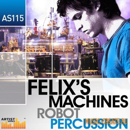 Loopmasters - Felixs Machines - Robot Percussion (MULTiFORMAT) - сэмплы Minimal,Tech House