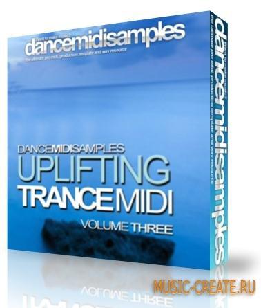 DMS - Uplifting Trance MIDI Vol 3 (WAV MiDi LiVE PROJECT) - сэмплы Uplifting Trance