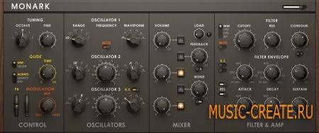 Native Instruments - Monark v1.1.0 (Team R2R) - синтезатор для REAKTOR 5