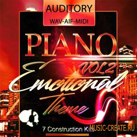 Auditory - Piano Emotional Theme Vol.2 (ACiD WAV AiFF MiDi) - сэмплы Pop, Dance, R&B, Ambient, Chillout