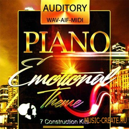Auditory - Piano Emotional Theme (WAV AiFF MiDi) - сэмплы Pop, Dance, R&B, Ambient, Chillout