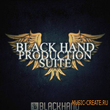 Black Hand Loops - Black Hand Production Suite (ACiD WAV AiFF MiDi) - сэмплы Hip Hop, RnB, Pop