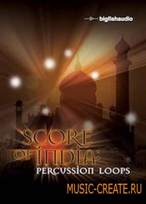 Big Fish Audio - Score of India Percussion Loops (MULTiFORMAT) - перкуссионные лупы