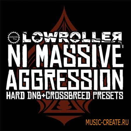Industrial Strength Records - Lowroller: NI Massive Aggression (Massive presets)