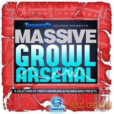 Tunecraft - Massive Growl Arsenal (Massive presets)