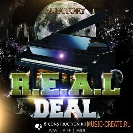 Auditory - Piano: The Real Deal (WAV AiFF MiDi) - сэмплы Hip Hop, R&B, Pop, Cinematic