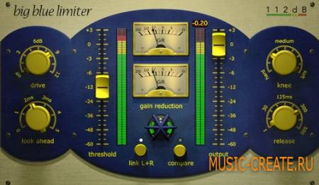 112db - Big Blue Limiter v1.1.5 (Team R2R) - плагин лимитер