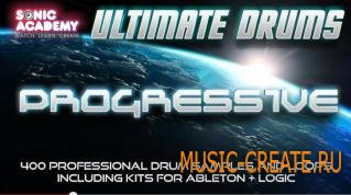 Sonic Academy - Ultimate Drums Progressive (AiFF REX Apple Loops) - драм сэмплы