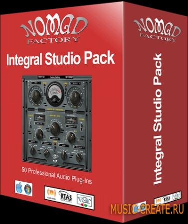 Nomad Factory - Integral Studio Pack 3 v5.1.0 WiN/MAC (Team R2R) - сборка плагинов эффектов